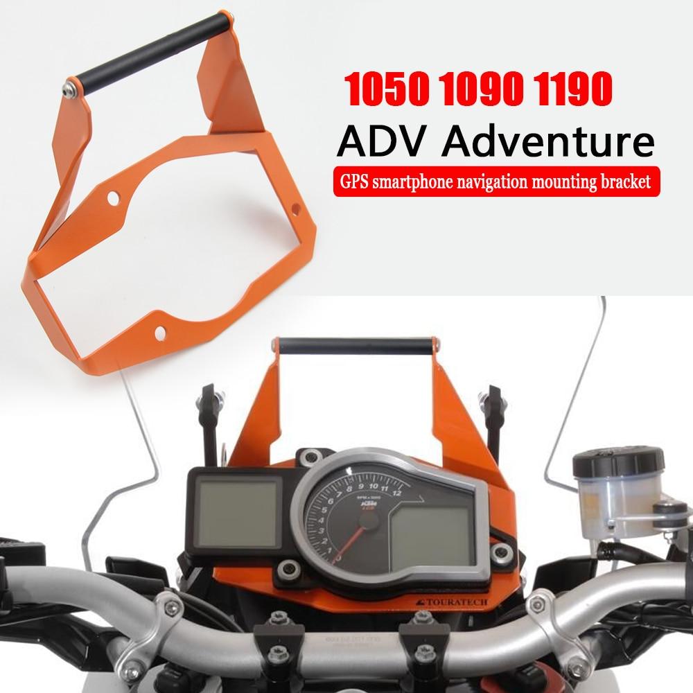 حامل هاتف ذكي بنظام تحديد المواقع للدراجة النارية متوافق مع 1050 1090 1190 Adventure ADV