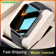 2021 Smart Watch Body Temperature/Heart Rate Measurement 1.65 Inch Screen Sport Smartwatch Men Women