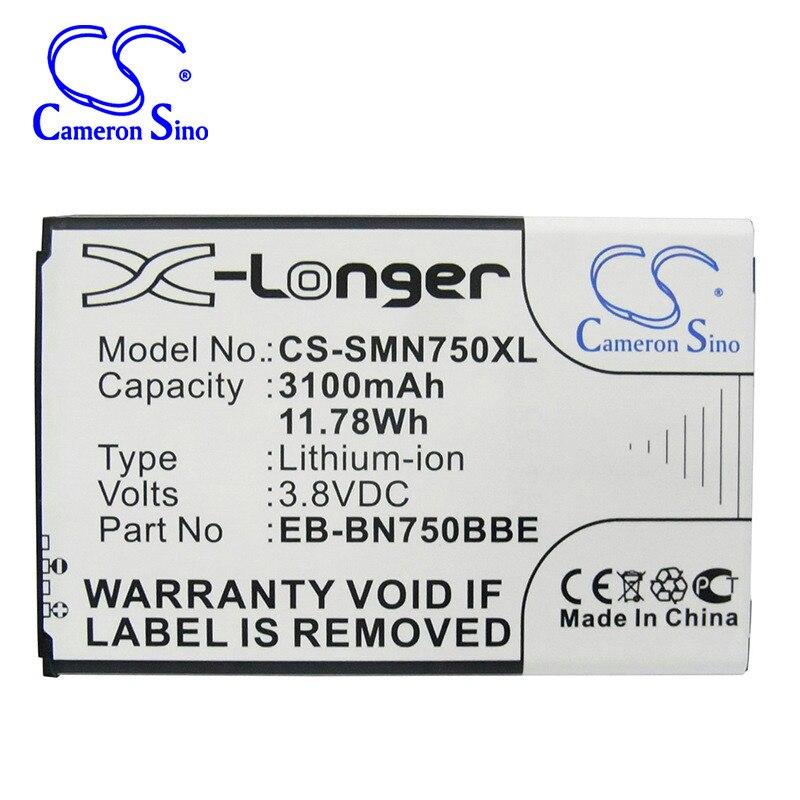 CameronSino para SAMSUNG Galaxy nota 3 Mini SM-N7502 SM-N7505 SM-N7506V SM-N7507 SM-N750K SM-N750S SM-N9008S batería