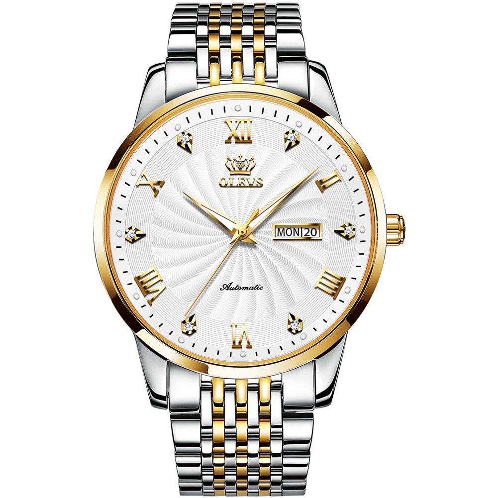 OLEVS Brand watches fully automatic mechanical watches fashion waterproof men's watches and women's watches couple watches фото