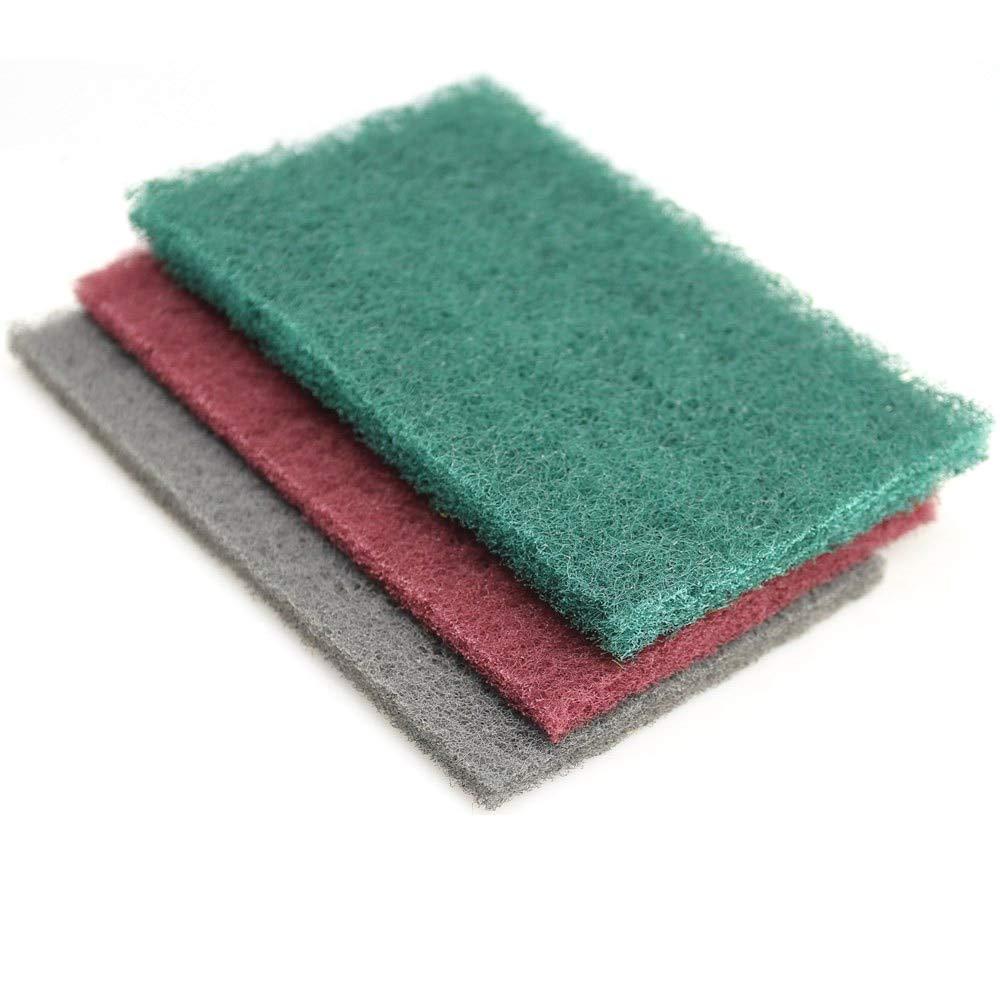3 шт., промышленные абразивные мочалки для чистки