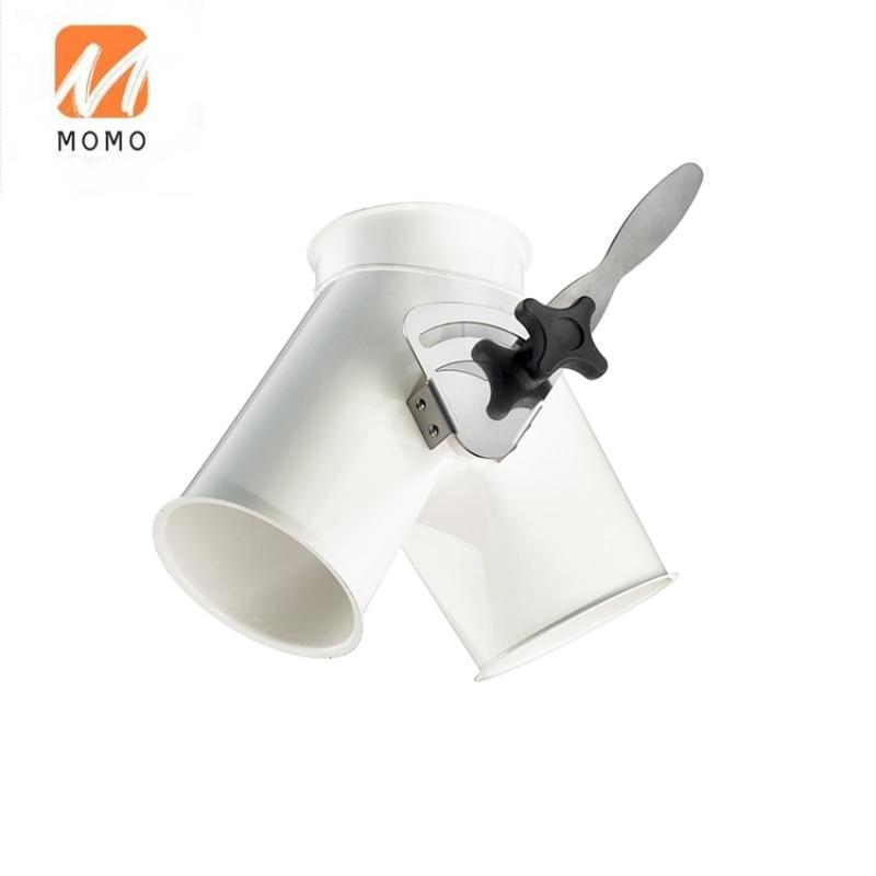 صمامات كلبشة غير متماثلة تعمل باليد نظام التكييف ماسورة تكييف الهواء تنفيس الهواء