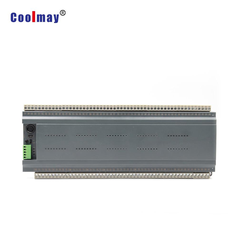DIN-rail pequeno plc controlador suporta servo sistema deslizante porta Ethernet e Möbus