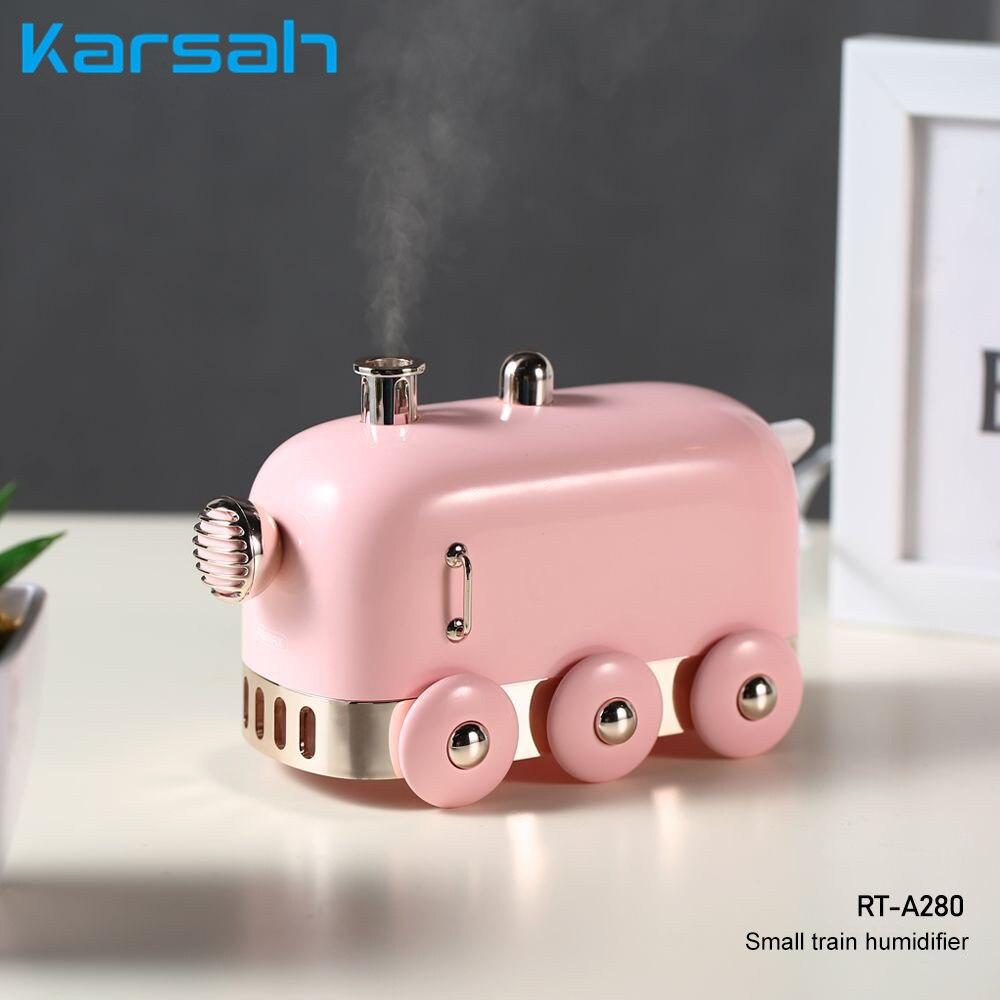 Mini juguete tren humidificador de aire aceite esencial de aromaterapia difusor portátil Nano Spray hidratante para el hogar Oficina dormitorio de los niños