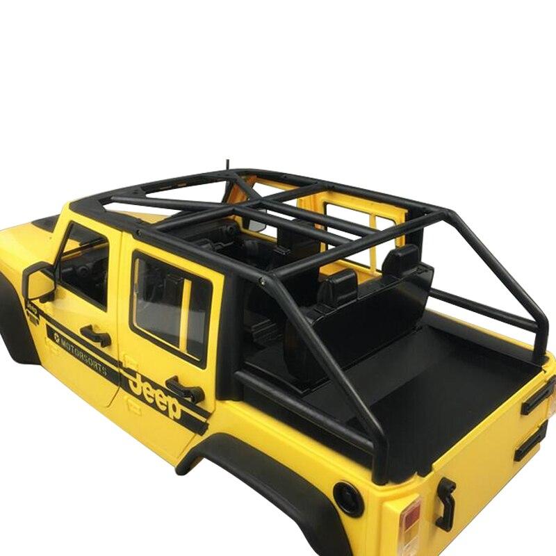 Simulation car shell DIY Refit Convertible hard shell 313 wheelbase For 1/10 RC Crawler Car AXIAL SCX10 Wrangler Upgrade parts enlarge