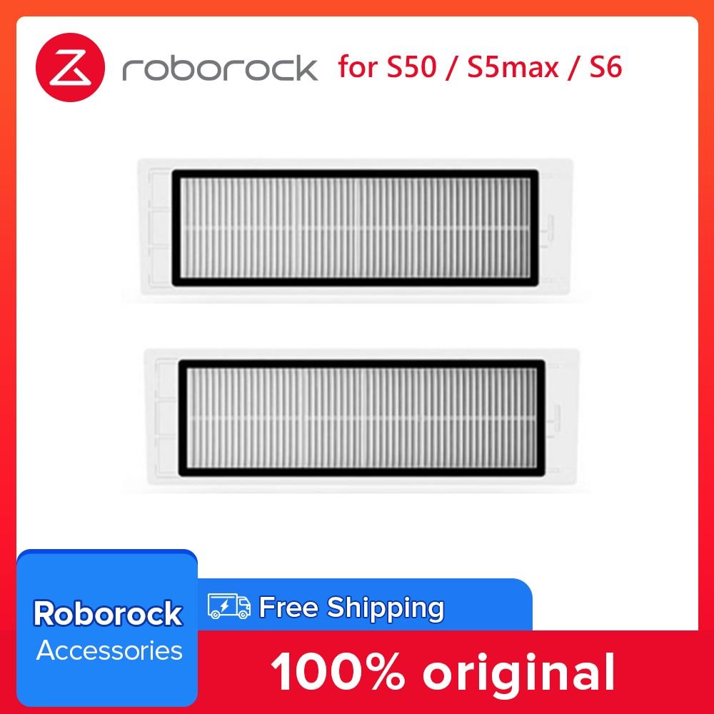Ursprüngliche Roborock Waschbar Filter Ersatz Kits für Roborock S50 S6 S5max S6max V Staubsauger Ersatzteil Reinigung Ersatz