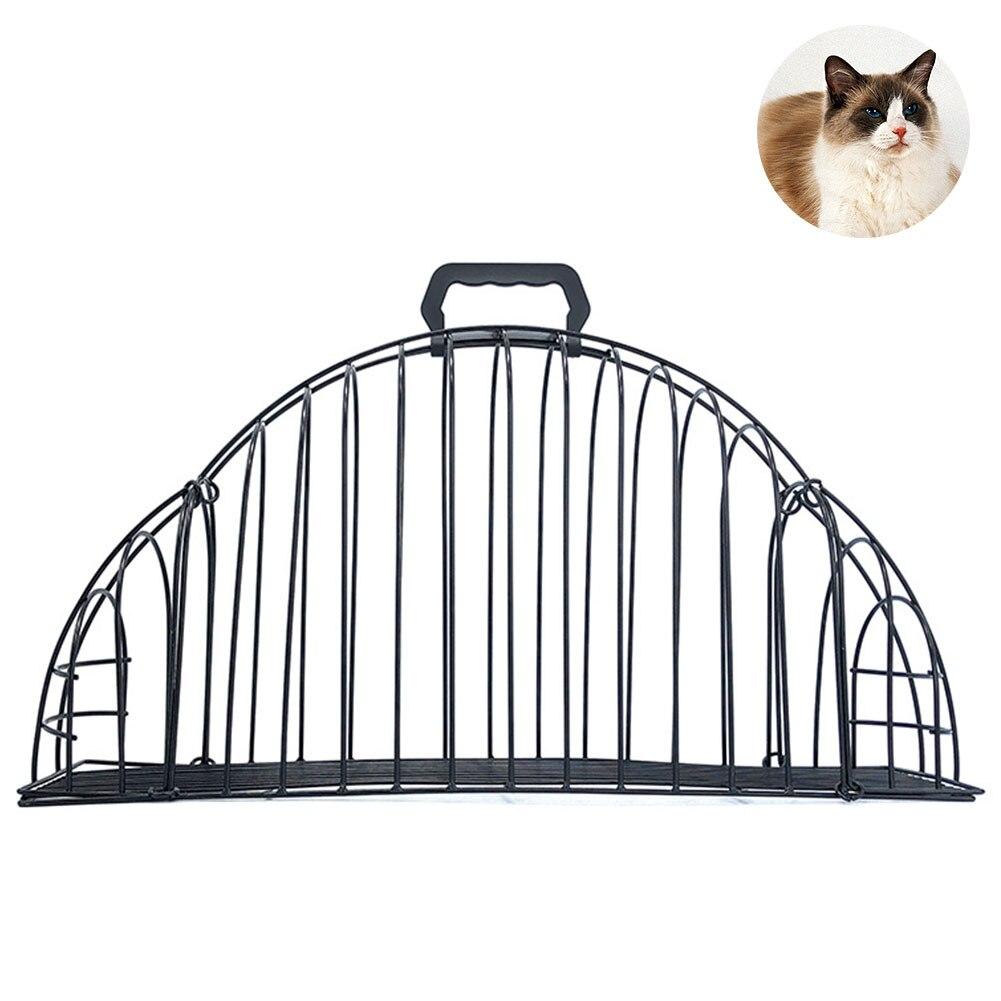Proteger o Proprietário Secador de Cabelo Suprimentos para Animais de Estimação Chuveiro do Gato Gaiola Leve Fácil Banho Porta Anti-agarrar 2