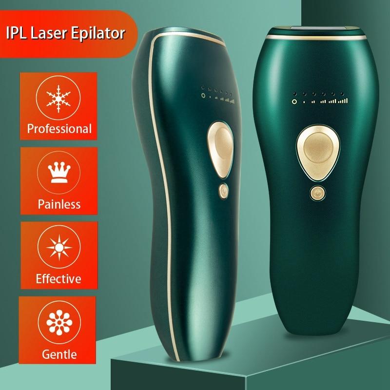 IPL Lasers Hair Removal Female Home Epilator Light Hair Removal Pulse Light Epilator Female Body US Plug enlarge