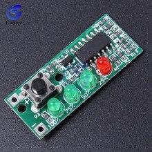 3S 4S литий-железо-фосфатных аккумуляторов и Батарея Ёмкость тестер 9-12V доска Мощность индикатор уровня четыре уровня светодиодный Дисплей модуль