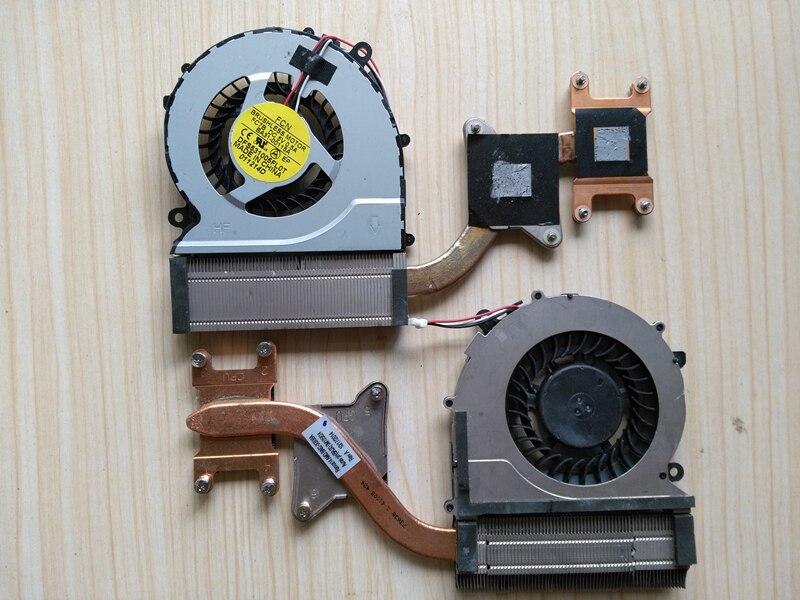 Portátil CPU ventilador de disipador de calor para SAMSUNG NP370R4E NP450R4V NP450R4E NP470R5E NP450R4Q amistad FC7B DFS531005FL0T BA62-00797A