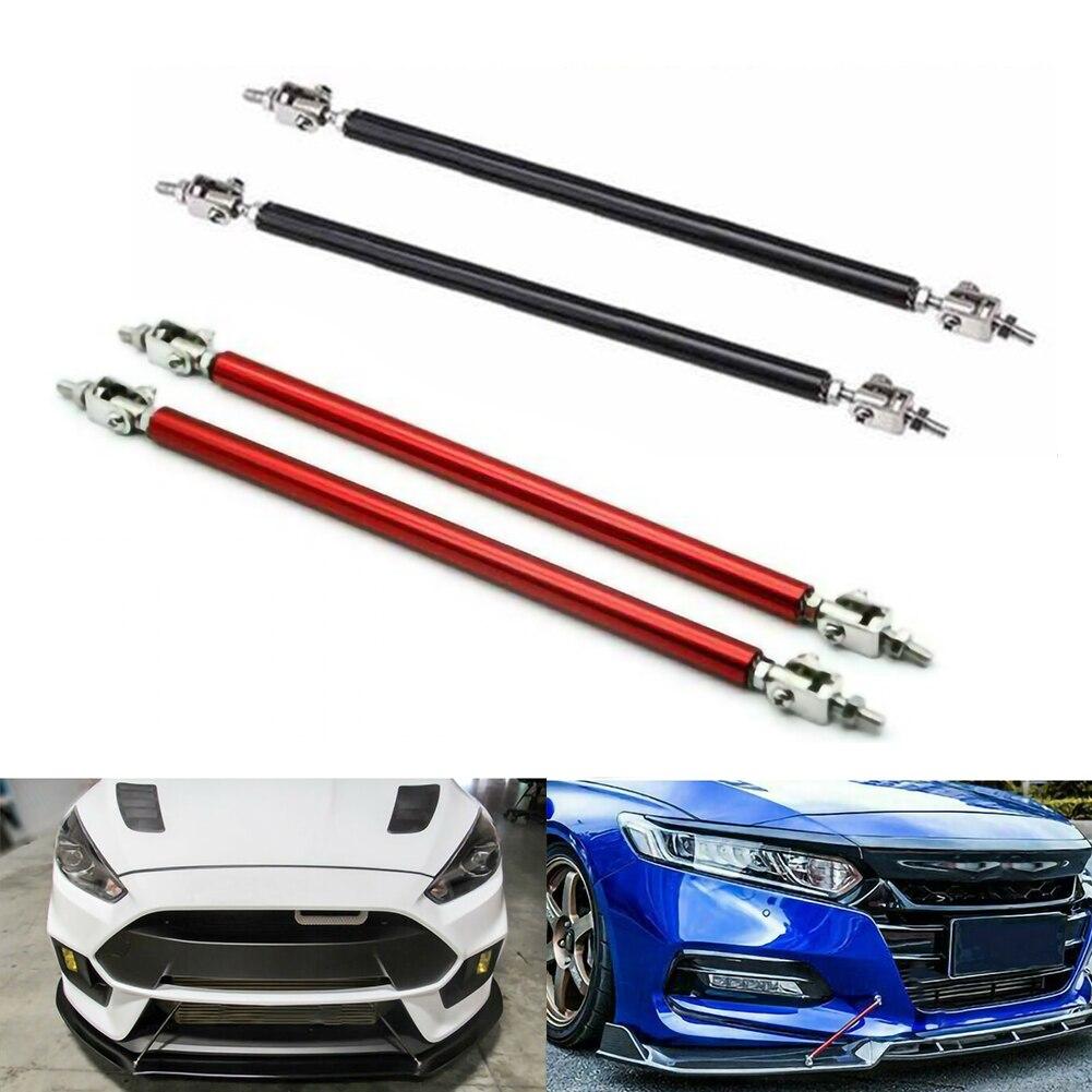 2 Pcs Car Adjustable Front Bumper Lip Splitter Strut Tie Bar Support Rod For Car Truck RV Camper Trailer Motorhome enlarge