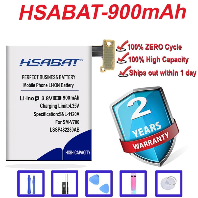Marca 100% nueva 700mAh LSSP482230AB B030FE batería para Samsung Galaxy Gear 1 SM-V700 V700 LSSP482230AB en stock