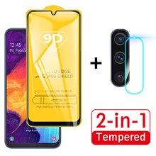 2 en 1 caméra de protection lentille verre pour Xiomi Redmi Note 8 7 5 6 Pro 7A 8A lentille protecteur verre trempé pour Redmi Note 8T verre