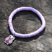 Bohemian Bracelets for Woman Jewelry Multicolor Polymer Clay String Charm Bracelet Female Gift Acces