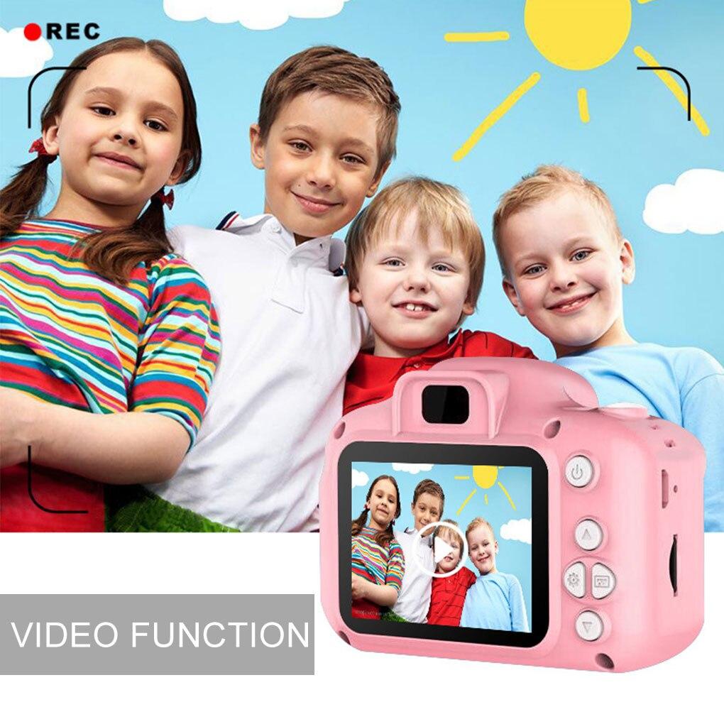 Child Camera Mini Digital Camera Photo Video Camera Children Camera Kid Camera Fun Toys for Girl Gif