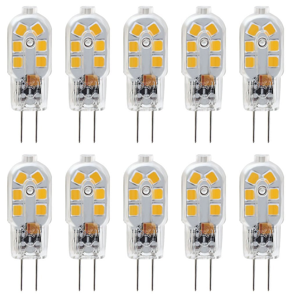 10pcs 3 W LED Bi-pin Lights 300-360 lm G4 T 12 LED Beads SMD 2835 Decorative Warm White Cold White Natural White 220-240 V 12 V 10pcs lot 2 5w led bi pin lights t 33 smd 2835 210 lm warm white white ac 220 240 v g9