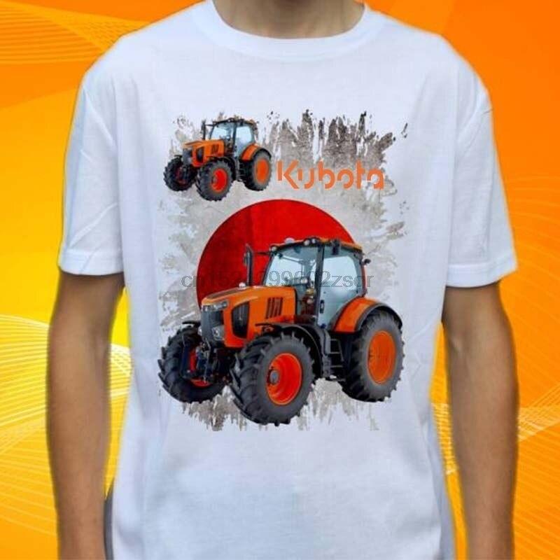 Новая мужская модная футболка Kubota трактор Размер S до 3XL