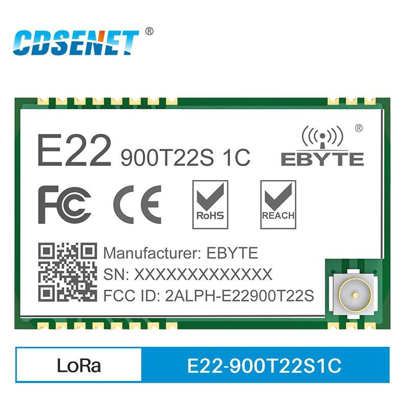 868mhz 915mhz cojxu e43 900t13s3 low cost iot module development board uart wireless transceiver transmitter receiver SX1262 UART Wireless Transceiver Module LoRa 868MHz 915MHz 22dBm 7km E22-900T22S1C IPEX CDSENET Transmitter and Receiver