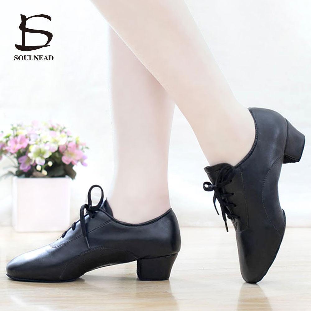 Preto dos homens sapatos de dança latina pu fundo macio masculino ballroom tango jazz salsa sapatos de alta qualidade sapatos de dança do menino atacado