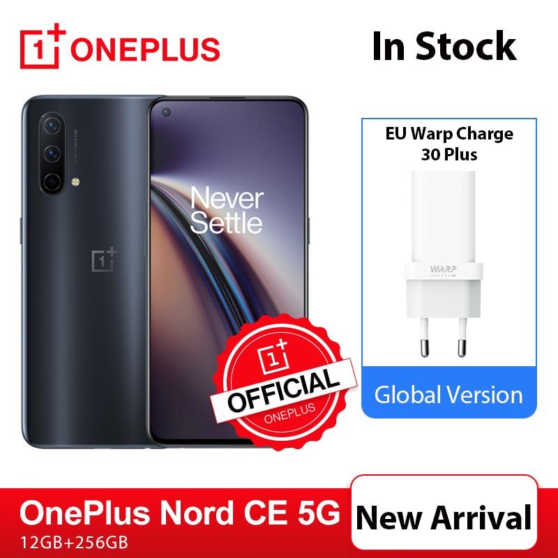 Новое поступление, смартфон OnePlus Nord CE, 12 Гб, 256 ГБ, Snapdragon 750G, Warp Charge 30T Plus, AMOLED-экран 90 Гц, официальный OnePlus; код(for APP): 4DEAL005(P900-300) 4DEAL004(P900-300)