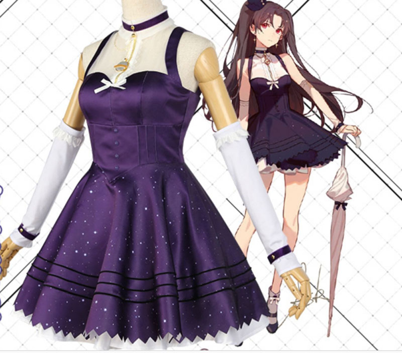 Fate/Grand Order Moon Girlfriend Ishtar; карнавальный костюм; платье лолиты