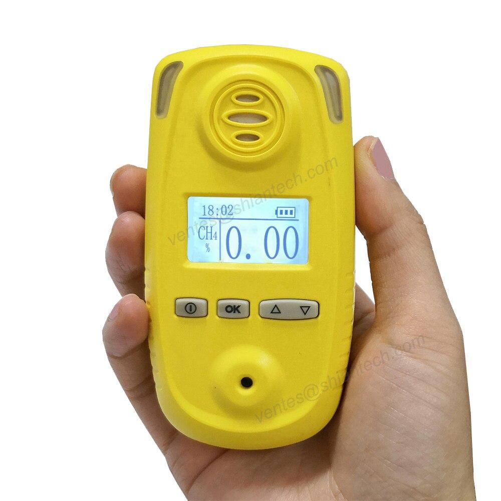 Analizador de Gas portátil metano, alta precisión CH4/Analizador de metano y medidor