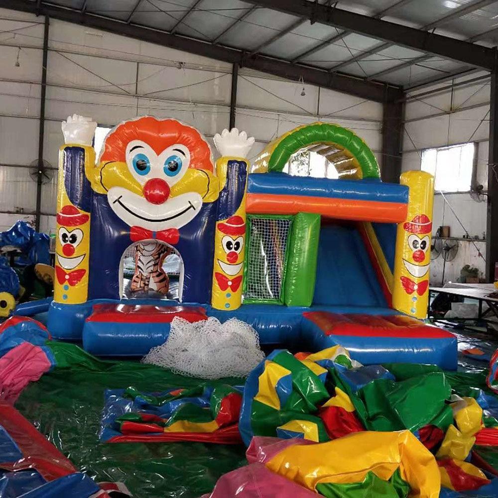 大公園の子供のインフレータブル城、インフレータブル遊具、家電インフレータブルトランポリン、ジャンプ城子供のための