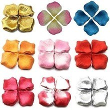 500 pièces soie Rose fleur pétales feuilles mariage Table décorations Rose pétales 2020 romantique décoration Cañon Petalos
