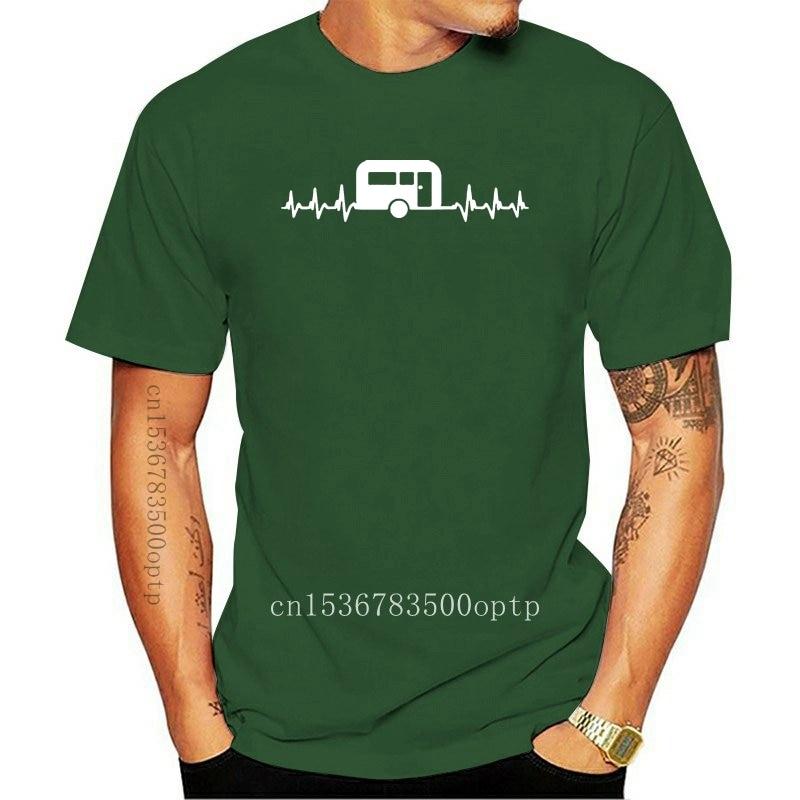 New Its In My HeartBeat Caravanning T Shirt Campinger Caravan T-Shirt UK P P T-Shirt for Short Sleeve Cool Tees women tshirt