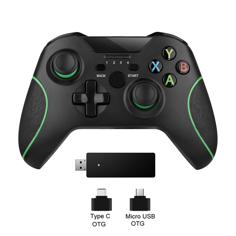 2.4G Wireless Game Controller For Xbox One Console For PC For Android joypad smartphone Gamepad Joystick For Xbox one controle