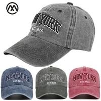 2021 new york retro baseball cap hats for men baseball cap mens brand caps for women cotton cap baseball caps casquette dad cap