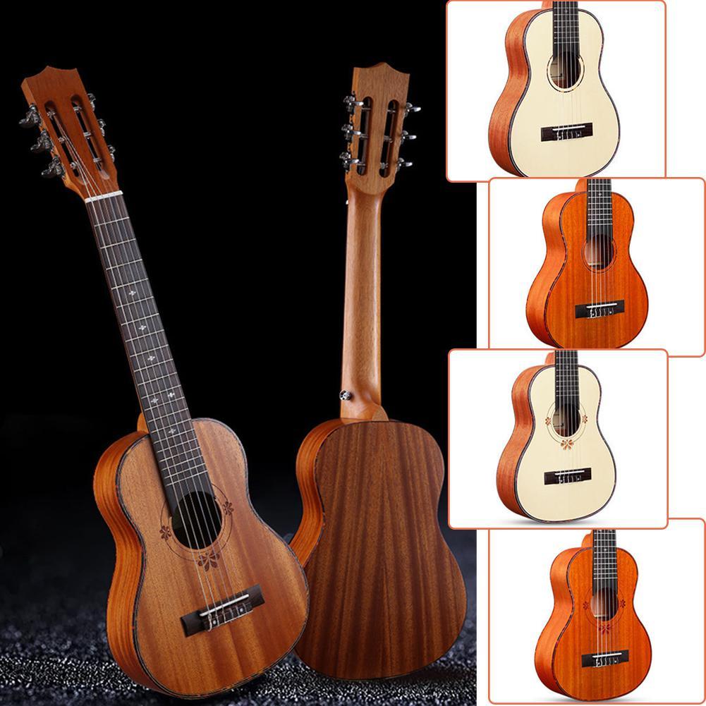 30 pulgadas 20 traste de guitarra ukelele 6 cuerdas guitarra acústica guitarra...
