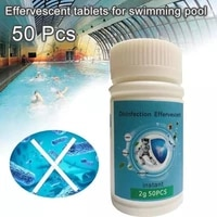 100 200 500pcs Chlorine Tablets Multifunction Instant Disinfection for Swimming Pool Tub Spa Piscina Effervescent Tablets Spray
