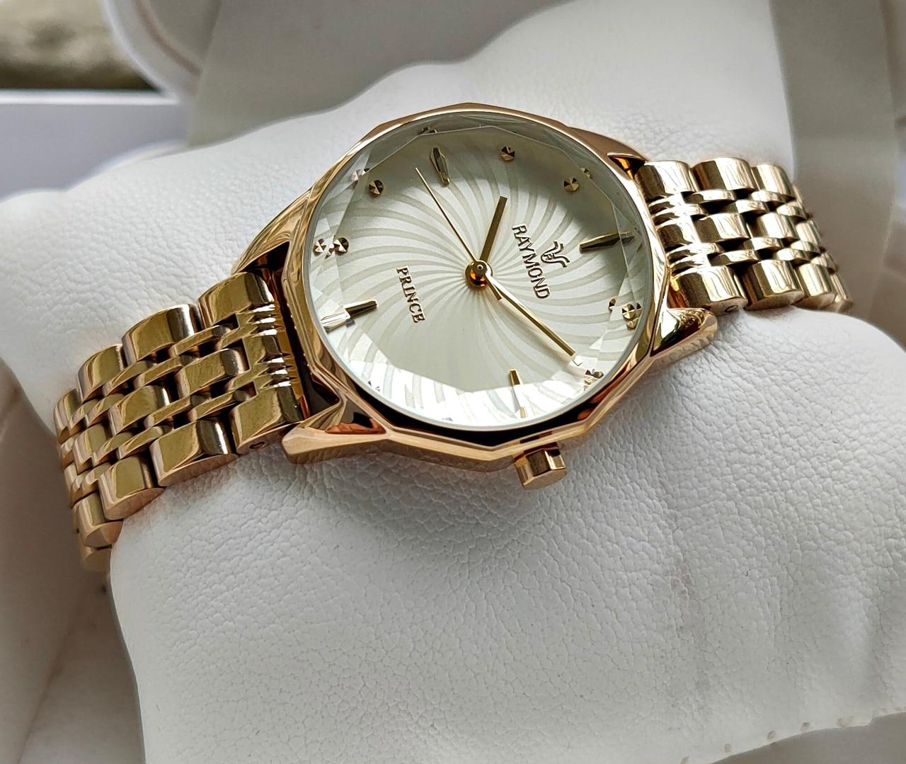 Raymond Swiss Prism Glass Design New Season Women 'S Wristwatch Classic Stylish Model Europe America Fashion Watches Swiss Watches enlarge