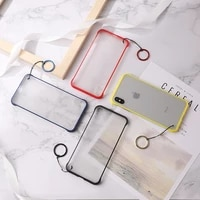 translucent tpu phone case for iphone 6 7 8 x xs xsmax xr4 color optional