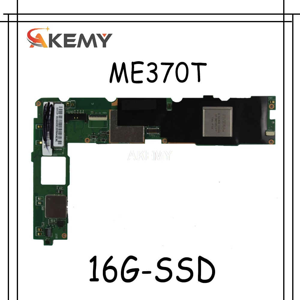 Neue! Original Für For Asus Eee Pad MeMO ME370T Tabletten motherboard mianboard logic board W 16G-SSD
