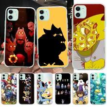 Nbdruicai Cool Fashion Game Undertale Alphys Custom Telefoon Case Voor Iphone 11 Pro Xs Max 8 7 6 6S plus X 5S Se Xr Cover