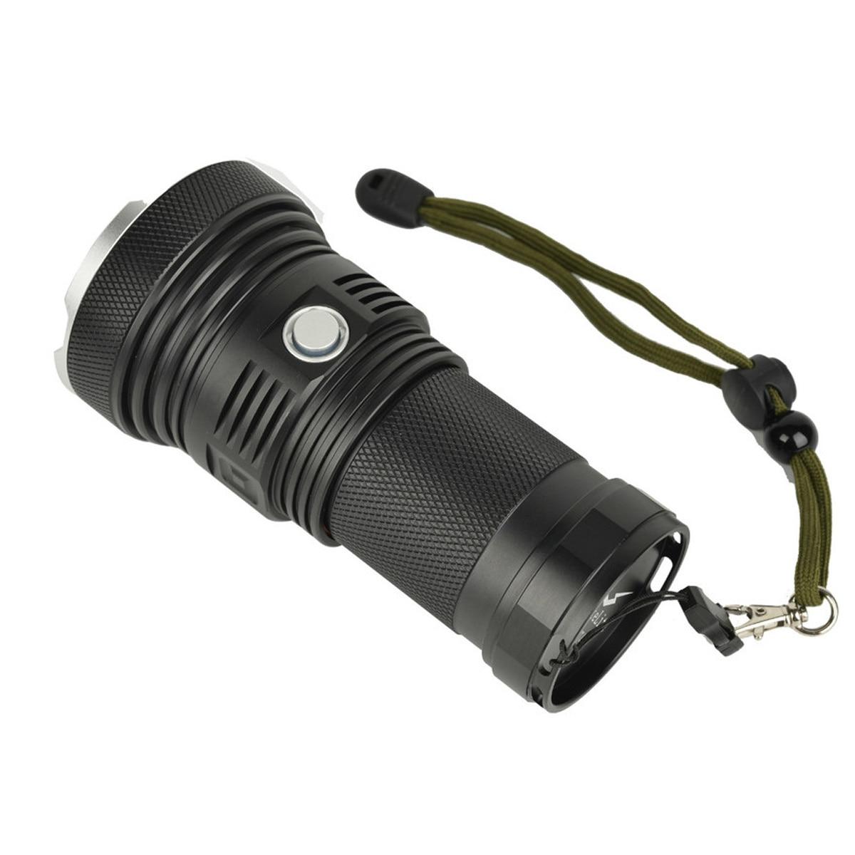 Haikelite LED Flashlight IPX8 SST40 MT40 4 Lamps 6500 Lumens Super Bright Torch Waterproof Outdoor Camping Light 1400m enlarge
