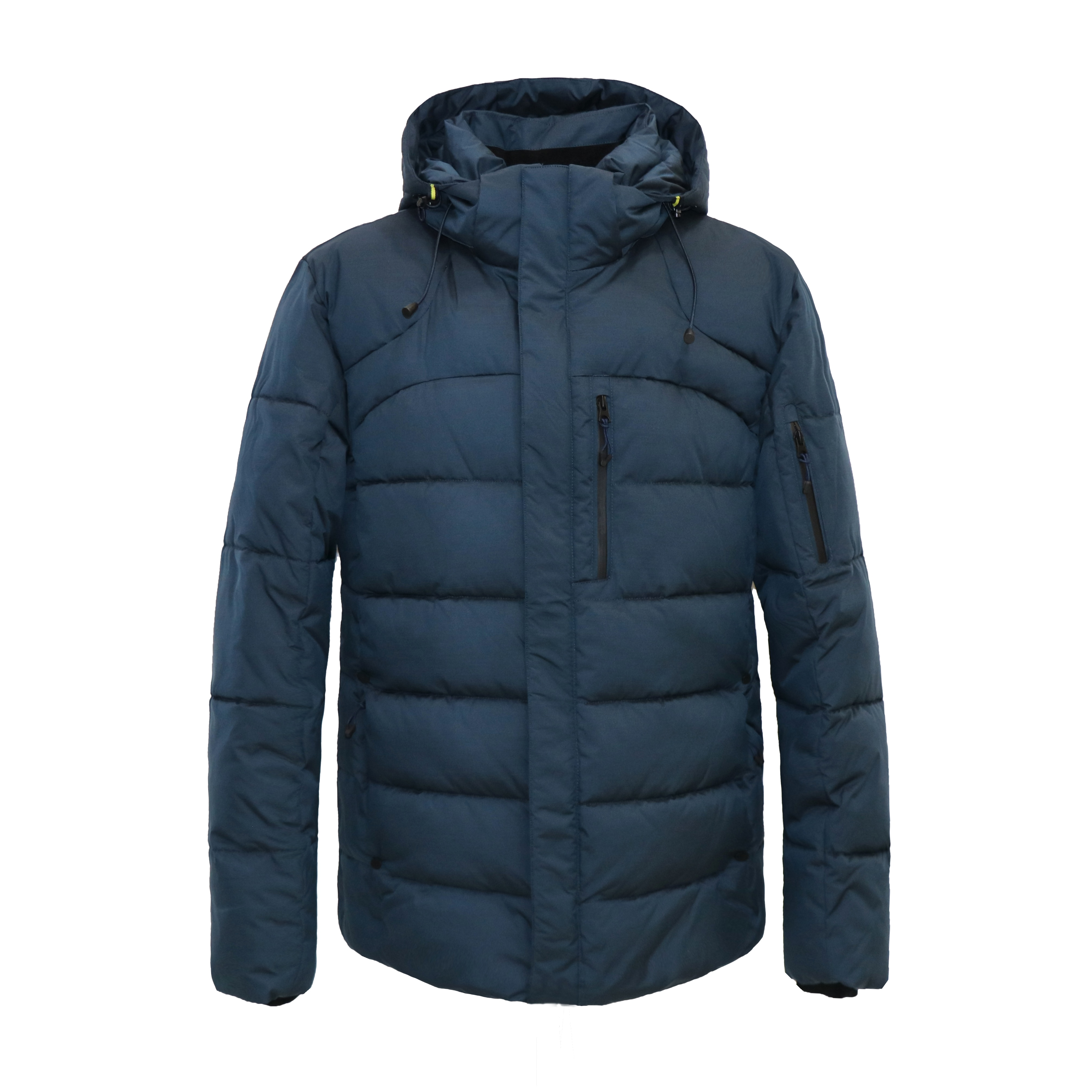 2021 men winter jacket coat warm cotton Brand New casual Waterproof Parka Thick hat detachable men clothes Padded Jacket male