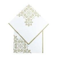 20pcs disposable napkins eid mubarak happy ramadan party supplies celebration decoration eco friendly