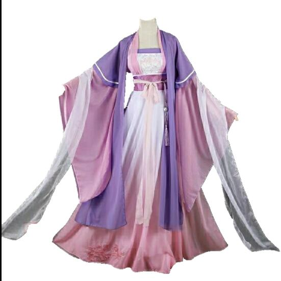 New Arrival Anime Grandmaster of Demonic Cultivation Jiang Yan Li Cosplay Costume Mo Dao Zu Shi Women Full Set Costume