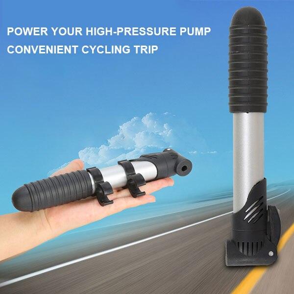 Mini inflador para bicicleta De aleación De aluminio portátil inflador para bicicleta...