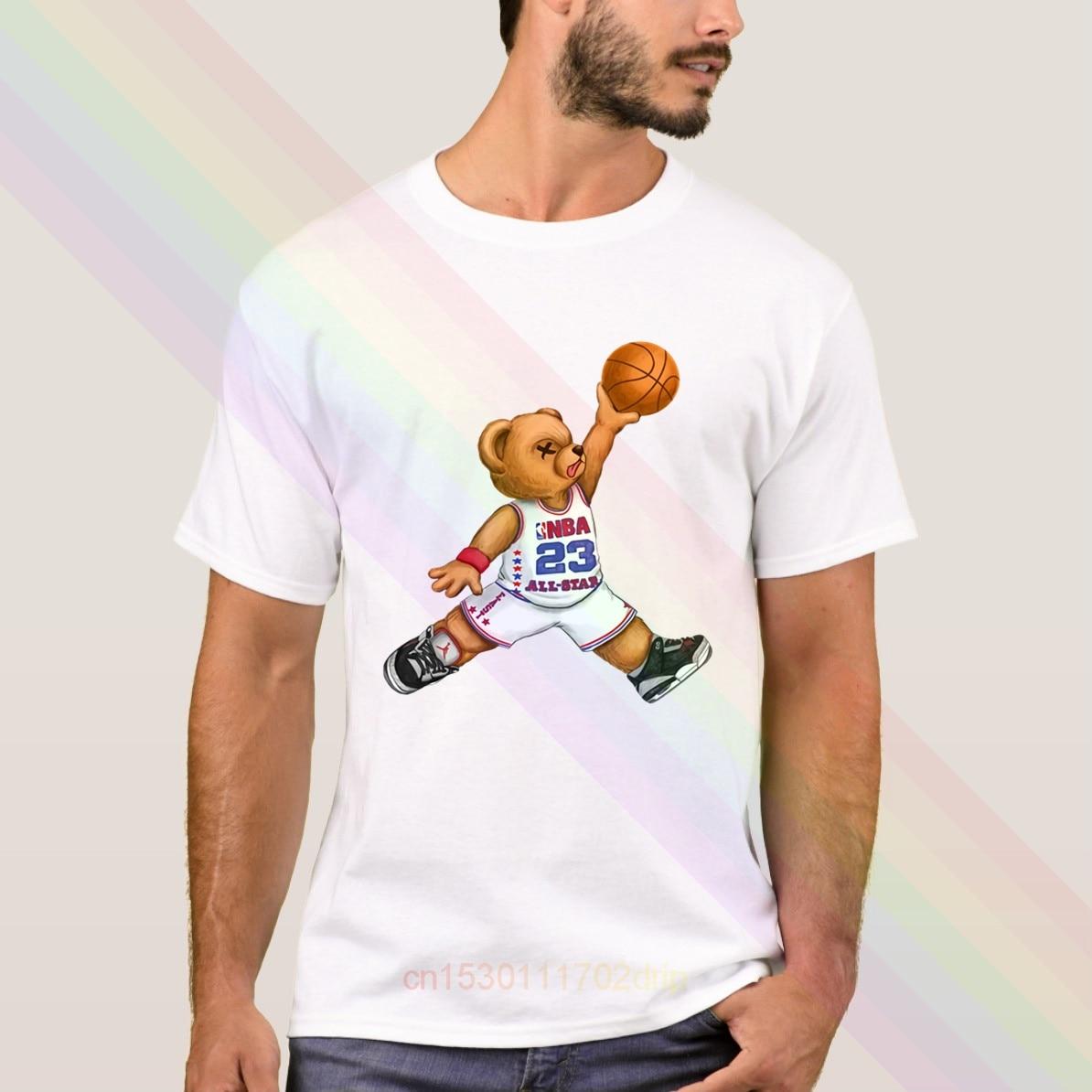 ¡NOVEDAD DE VERANO 2020! Camiseta de baloncesto Michael Jordan, camisetas populares de manga corta para hombre, camisetas Unisex
