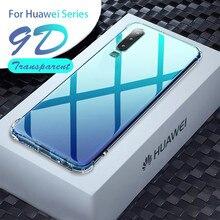 Coque souple transparente pour huawei p30 p40 pro coque silicone antichoc honour 10i 10 20 lite light 30 20 s 9x premium 9a 9c