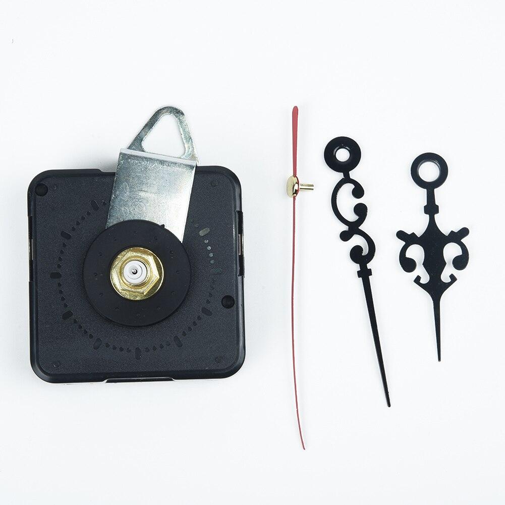 1 Kit de movimiento para reloj de cuarzo de barrido de precisión de mano de movimiento de reloj de pared para Kit de reloj de reemplazo DIY