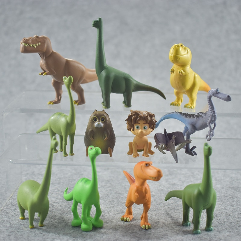 dinosaur animal series many chew toy 12 Pcs Kids Dinosaur Animal Series Model Doll Toy For Children Action Figure Toys Pparty Gift Boys Educational Toy Hot Sale