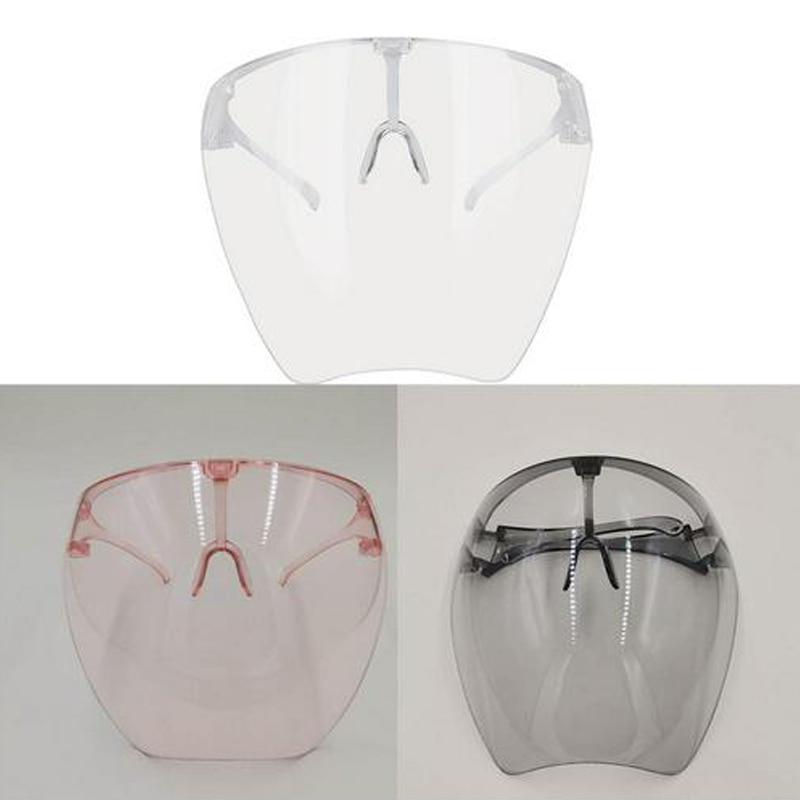 New Fashion Outdoor Face Shield With Anti-ultraviolet Design Camping Riding Windshield Sunglasses UV