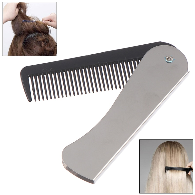 aliexpress.com - Portable Folding Pocket Combs For Men Oil Head Portable Beard Combs Hair Styling Product Combs For Man Women