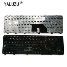 Klawiatura laptopa US dla HP DV6 DV6T DV6-6000 DV6-6100 DV6-6200 DV6-6b00 dv6-6c00 czarny angielski NSK-HWOUS lub 665937-251
