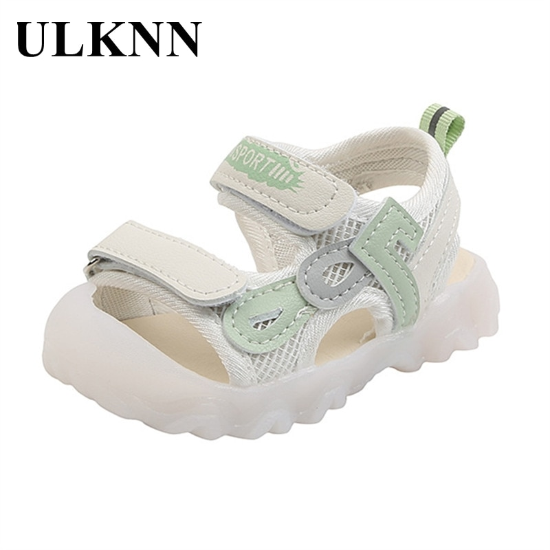 ULKNN Baby Summer Sandals 1-3 Years Old Baby Sandals  Infant Toddler Shoes Kid's Pink Sandals Size 15-19 Sandals For Baby